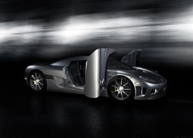 Koenigsegg CCX high-poly v01 by ProperGraphics