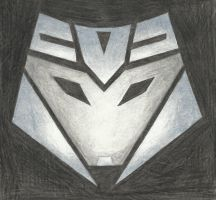 Decepticon Insignia - Megatron (TFP) by LadyIronhide