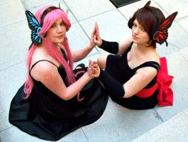 Vocaloid - Meiko and Luka Magnet by Shimichi