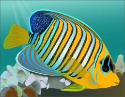 Tropical Fish by Mad-Ethel-Rackam