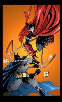 Spawn vs Batman by PowermasterJazz