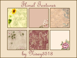 Floral Textures by splashbomb