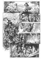 Solomon Kane pg 1 pencils by deankotz