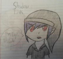 Shadow Link is Evil not CUTE! by Fallinginreverse1298