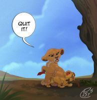 Quit it, Kion by Psychoon