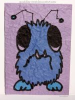 Monster Mike IV ATC 37 by Quaddles-Roost