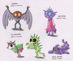 Sableye Variations 2 by StarSlug
