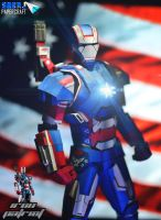 Iron Patriot Papercraft by suraj281191