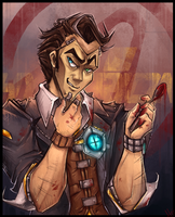 The Face of Hyperion - Handsome Jack! by WalkingMelonsAAA