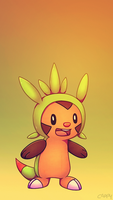 Chespin by cappydarn
