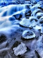 Ice water and cold by KariLiimatainen