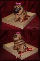 Gingerbread Pug by GingerbreadFairy