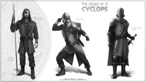 The Order of X - Cyclops by NateHallinanArt
