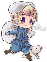 Chibi Series - Finland by say0ran