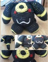 Giant Kitty Ball Umbreon Commission by Xite91