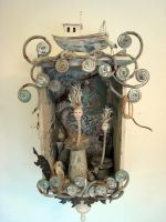 Assemblage: Sea Faeries by bugatha1