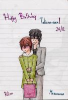 Happy Belated Birthday Takano-san~ by IperGiratina98
