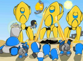 Carbot StarCrafts Battle P vs T by CountryGump