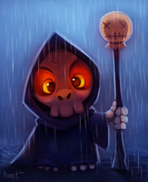 DAY 39. Mini Grim (25 Minutes) by Cryptid-Creations