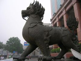 Bank of China's Dragon by theChrisScott