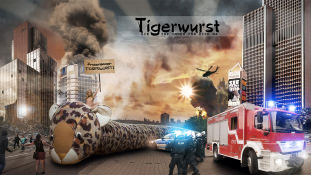Tigerwurst! by demolitiondan
