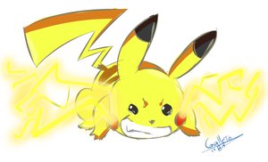 Pikachu! by GalletoconK