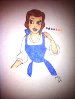 Belle by DreamInColorz