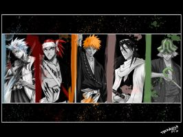 The people of Bleach by killaxterrasquad