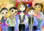 Sarah Jane Adventures as Dolls by ChristineVCarter