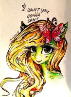Floral Fly- trade by PHoenDrugsHairdryer