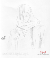 Kuchiki Byakuya Bleach by Rage-DN