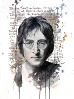 Imagine - John Lennon by DeniseEsposito