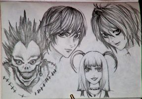 Death Note by Persefone999