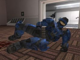 Halo Reach: Poser by King-of-Darkness50