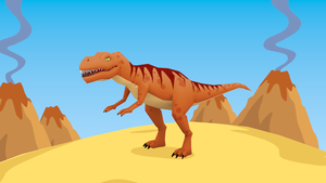 Low poly T Rex by bryansvt92