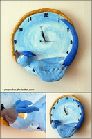PKMN: Articuno Clock by yingmakes
