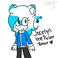 Jocelyn The Polar Bear reference by ChickenNuggetGalaxy