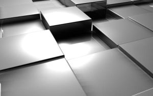 Silver Cubes by DaBanch