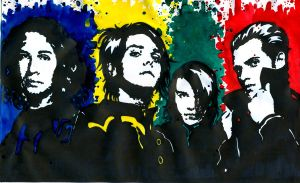 My Chemical Romance 5 by weedenstein