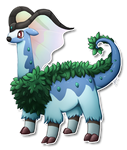 Aurogoat - Pokemon Fusion by LimeRa