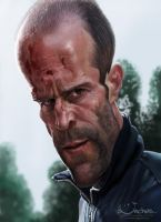 Jason Statham by creaturedesign