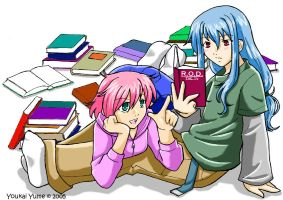 Read or Die: Study Buddies by YoukaiYume