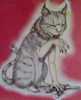 She Cat tattoo design by bikerchickie