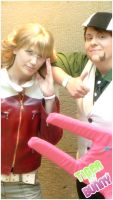 Tiger and Bunny cosplay by layann