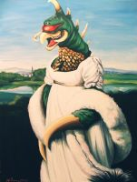 Lady Gigan by HillaryWhiteRabbit