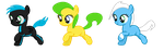MLP Adopts (5 points each) by AdmiralBubbles
