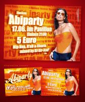 Abiparty Flyer 2004 by vega0ne