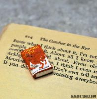 The Catcher in the Rye Book Charm by MadHatterBata