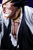 Kenpachi Zaraki - Bleach by MarxeDP