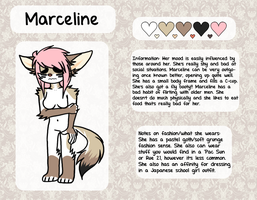 Anthro Marceline ref 2013 by komaeda-kun